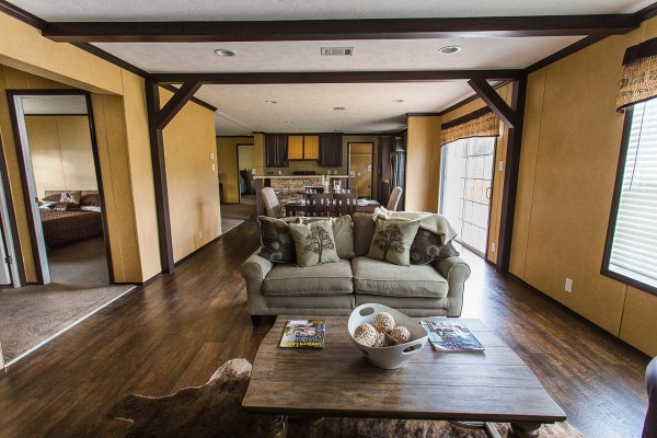 The River Club Model Home: Interior